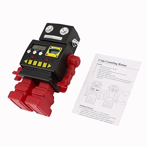 Vintage-Mode Roboter Münze Bank Spielzeug Kinder sprechen Roboter zählen Geld Box perfekt für Kinder Geschenk eigenen persönlichen Cash Point