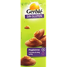 Gerblé Sin Gluten Magdalenas a la Harina de Arroz - Pack de 6 x 30 g