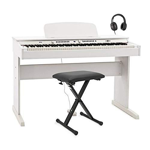 DP-6 Digitalpiano von Gear4music mit Zubehörpaket weiß