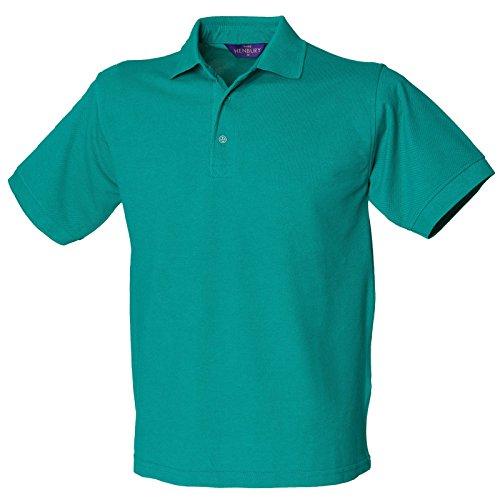 Henbury Herren Modern Poloshirt Jade