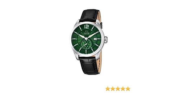 Leder J6633 Watches Analog Herren Xl Jaguar Quarz Armbanduhr JK3T1ulF5c