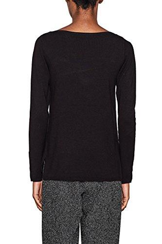 ESPRIT Collection Damen Pullover Schwarz (Black 001)