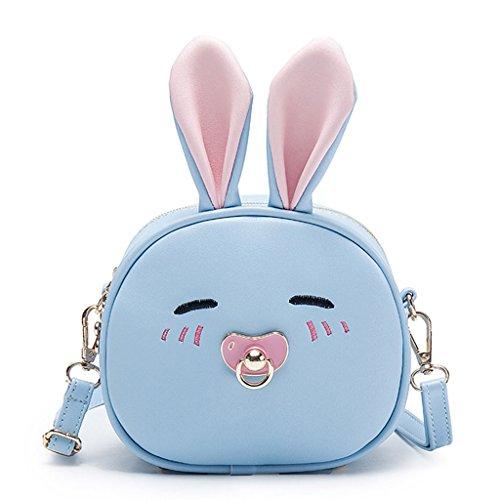Dabixx Cute Kids Kinder Handtasche für Mädchen Schultertasche Rucksack  Crossbody Handtasche Taschen-Cute Rabbit - bfd0fd2f2200c