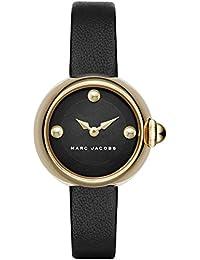 Marc Jacobs MJ1432 - Reloj con correa de cuero, para mujer, color negro
