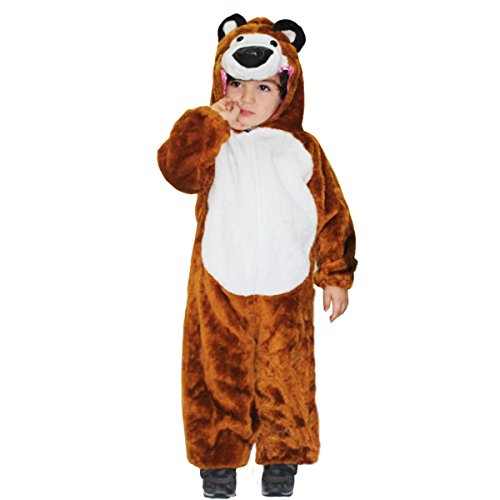 Costume di carnevale orso (2-3 anni)