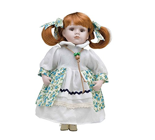 Muñeca de Porcelana de 30 cms con soporte. BEATRICE - BAM012
