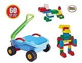 AVC 952dray-cart mit 60Best Blocks blocksseries, mehrfarbig