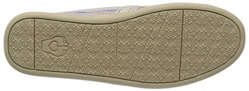 BOBS from Skechers Womens Bliss Highbrow Flat, Brown Woven, 10 M US Natural Multi