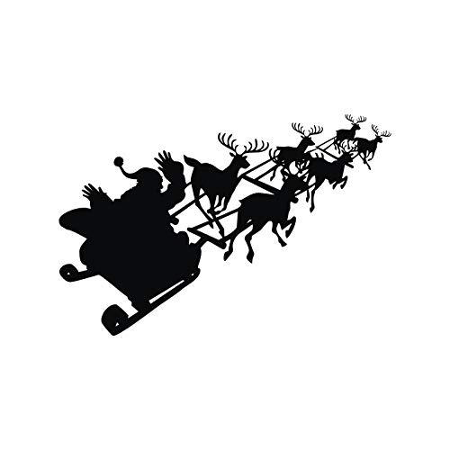efore Christmas Fensteraufkleber Wandaufkleber Kinderzimmer Dekoration Kinderzimmer Wandtattoos Wohnzimmer 59cm x 88cm ()