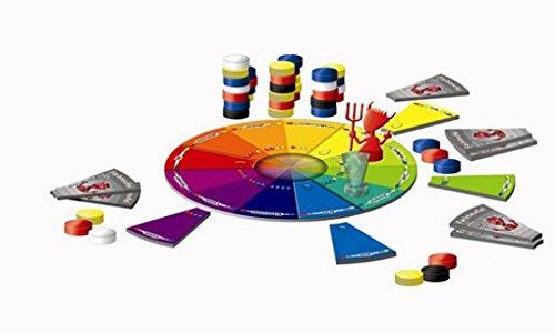 Farbteufel / Lernspiel über Primär- und Komplementärfarben / für bis zu 6 Spielern ab 6 Jahren geeignet