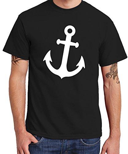 ::: ANKER ::: Boys T-Shirt Schwarz mit weißem Aufdruck