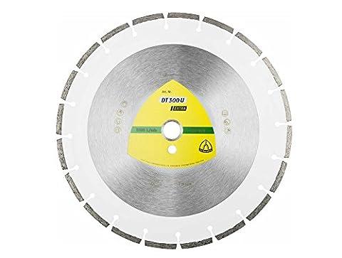 KLINGSPOR aDT diamantwerkzeuge gmbH disque à tronçonner diamanté DT300U Extra pour scie circulaire-diamètre : 300 mm, inscription 325351 30 mm