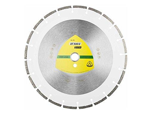 KLINGSPOR Diamanttrennscheibe DT300U Extra für Tischkreissäge, Durchmesser 300 mm, Aufnahme 30 mm, 325351