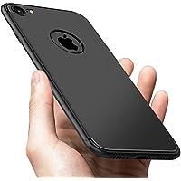 "Funda iPhone 8, Funda iPhone 7, Vkaiy Funda Suave TPU Gel Ultra Fina Flexible Cover, Antideslizante y Anti-Arañazos Case Cover Cascara Protectora Para Apple iPhone 8 /iPhone 7 de 4.7"" -Negro"