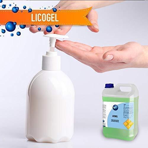 Gel hidroalcoholico de Manos Profesional higienizante y desinfectante Garrafa 5 litros