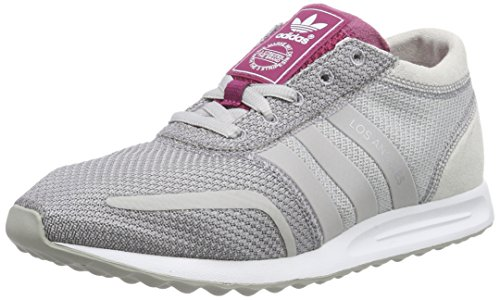adidas Los Angeles AF4301, Turnschuhe Grau (Clear Granite/Clear Granite/Berry  F15