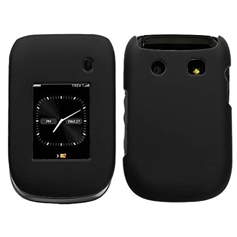Rubberized Case Blackberry Style 9670 (Black)