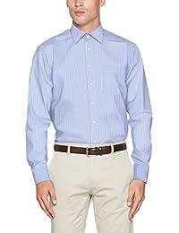 Seidensticker Herren Businesshemd Modern Langarm mit Kent-Kragen bügelfrei