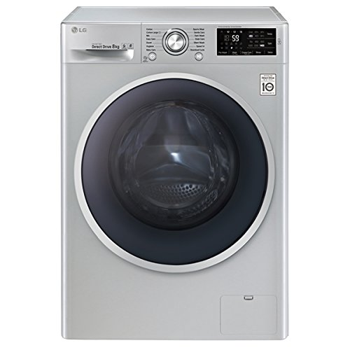 LG F14U2TDN5�Freestanding Front Loading 8�kg 1400RPM A + + + SILVER���Washing Machine (Freestanding, Front Loading, Silver, LED, Cold, Hot, 8�kg)