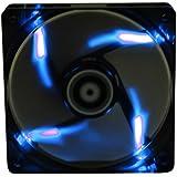 BitFenix Spectre BFF-BLF-23030B-RP Ventilateur avec LED Bleu pour boitier 230 mm Noir