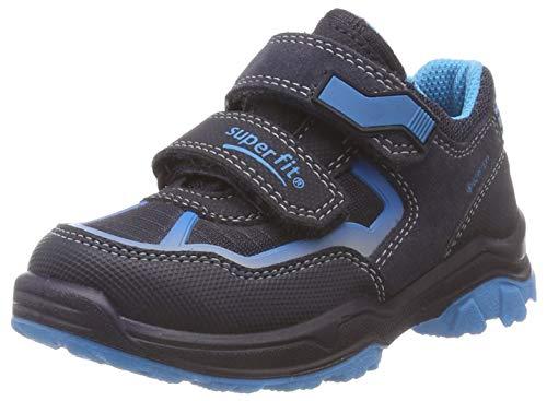Superfit Jungen Jupiter Sneaker, Blau (Blau/Blau 80), 32 EU