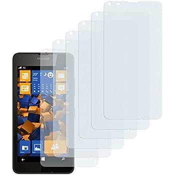 6 x mumbi Schutzfolie Microsoft Lumia 640 Folie Displayschutzfolie