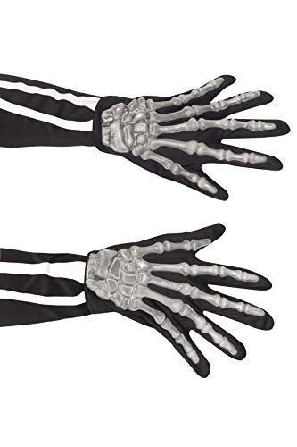 Smiffy's-22149 Miffy Guantes de Esqueleto