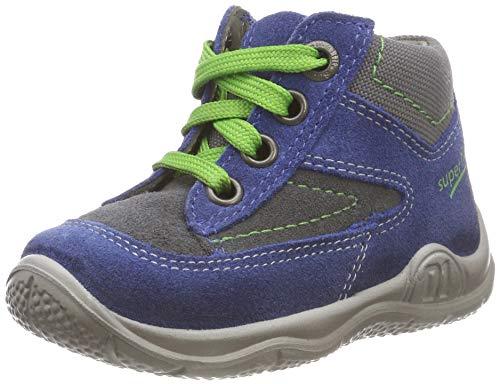 Superfit Baby Jungen Universe Sneaker, (Blau/Grau 81), 23 EU