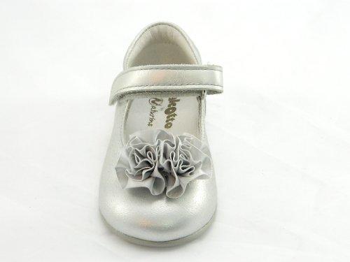 Naturino Falcotto , Chaussures premiers pas pour bébé (fille) argent argent 21 Argent