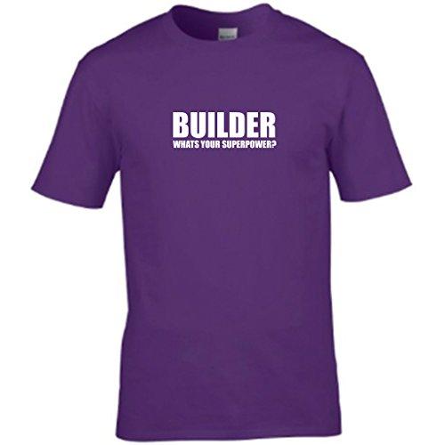 NEW ORDER WORLD-Gegner der Menschheit Herren t shirt Violett - Violett