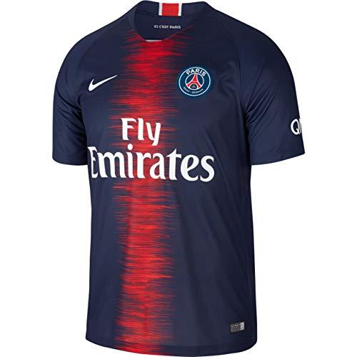6fc5316ab9885 Nike Paris Saint-Germain 2018/19 Stadium Home Soccer Jersey S/S (