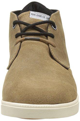 Pepe Jeans Londra Uomo Bolton Sand Alta Sneaker Marrone (tabacco)