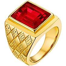 Amazon.es: anillos hombre oro - Envío internacional elegible