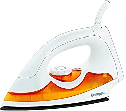 Crompton PD Plus 1000-Watt Dry Iron (White) Online at Low Price in India