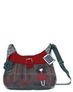 Santoro Gorjuss Poppy Wood Slouchy Bag