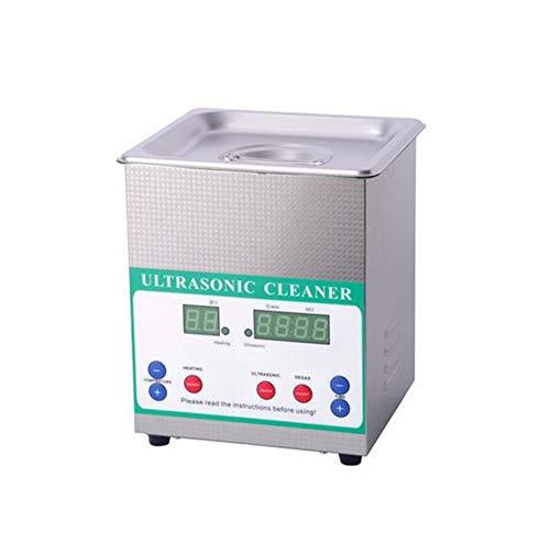 MICHEN 2.0L kommerziellen Ultraschallreiniger Digital Edelstahl Timer Heizung Einstellung Bad Reinigung Schmuck Uhr 60W,UK - Kommerziellen Uhr