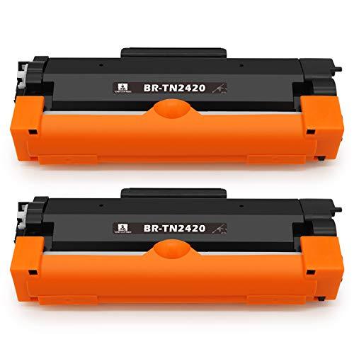feier TN-2420, Cartuccia Toner sostitutive per Brother TN2420 TN2410, compatibili con stampanti Brother HL-L2310D HL-L2350DW HL-L2370DN HL-L2375DW DCP-L2510D DCP-L2550DN MFC-L2710DN MFC-L2710DW