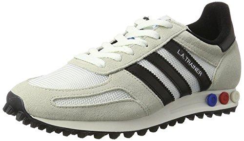 adidas Herren LA Trainer OG Gymnastikschuhe, Elfenbein (Vintage White S15-St/Core Black/Clear Brown), 44 EU (Adidas Trainer)