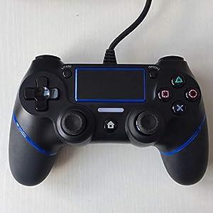OOFAY Gamepad Bluetooth Wired Controller Für Playstation 4 Joystick PS4 Spiel Griffkonsole mit 1.8M Kabel Zubehör(3 Farben Optional)