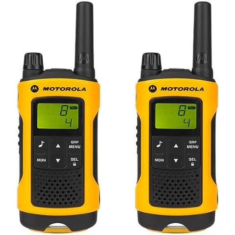 MOTOROLA Radio emisor y receptor walkies-talkies TLKR T80 Extreme - negro / amarillo