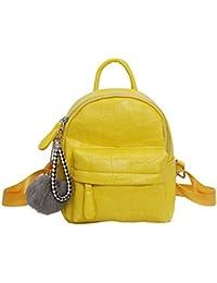 13d33220da2 VHVCX Las mochilas de cuero de las mujeres mochilas PU de la manera Jóvenes  por el hombro de pequeña escuela de Nueva Mujer adolescente…