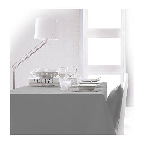 Today 256414 Nappe Polyester Zinc/Gris 150 x 250 cm