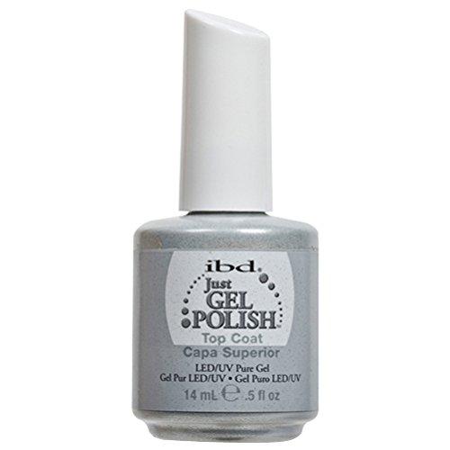 IBD Just Gel UV Polish - Top Coat (Ibd Uv-gel-nagel)