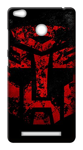 Mott2 Back Case for Xiaomi Redmi 3s Prime | Xiaomi Redmi 3s PrimeBack Cover | Xiaomi Redmi 3s Prime Back Case - Printed Designer Hard Plastic Case - Transformers theme