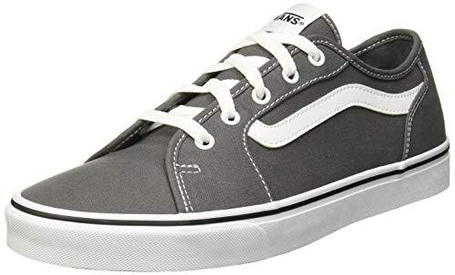 Vans Damen Filmore Decon Sneaker, Grau ((Canvas) Pewter/True White Gf5) 41 EU