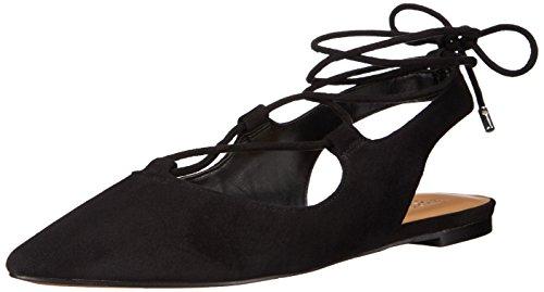 franco-sarto-snap-mujer-us-11-negro-zapatos-planos