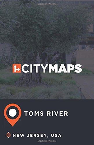 City Maps Toms River New Jersey, USA