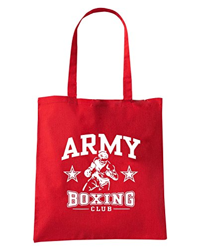 T-Shirtshock - Borsa Shopping TBOXE0099 army boxing Rosso