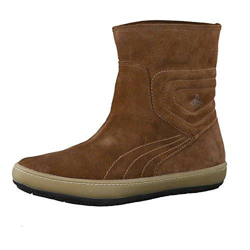 Puma , Chaussures bateau pour femme Marron - Marron