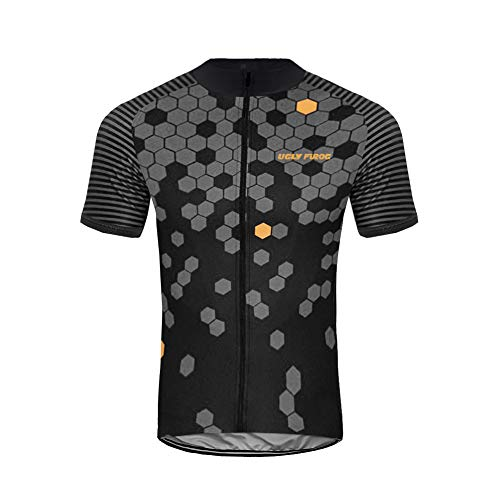 Uglyfrog LJ33 2019 Neue Fahrradtrikot/Shirt Herren Breathable Radfahren Fahrrad Kurze Ärmel Hülsen Jersey Fahrrad Hemd Männer Fahrradbekleidung Radfahren